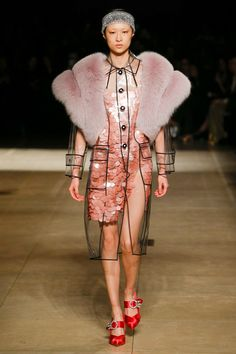 Miu Miu Fall 2017 Ready-to-Wear Fashion Show - Chu Wong