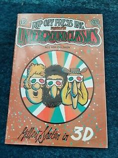 The Fabulous Furry Freak Brothers in 3D - RARE - Gilbert Shelton | eBay Gilbert Shelton, Comic Books For Sale, Unknown Soldier, Cover Pics, Teen Titans, Spiderman, Brother, Cartoon, 3d