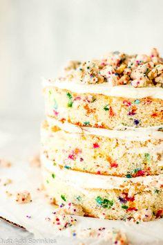 Milk Bar Birthday Cake : Just Add Sprinkles