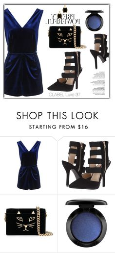 """""""CLABEL LUXE 37"""" by clabelfootwear on Polyvore featuring Topshop, C Label, Charlotte Olympia, MAC Cosmetics and Marni"""