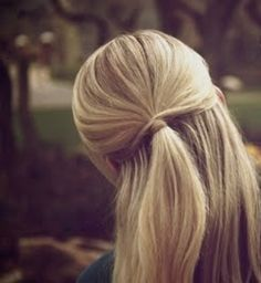 Gorgeous straight ponytail hairstyle