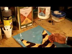 How To Make A Leather Clutch Bag Part 2 of 5 - YouTube