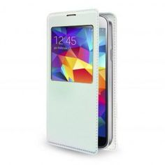 BACKCOVER BOOK SAMSUNG G900 S5 COLORE BIANCO