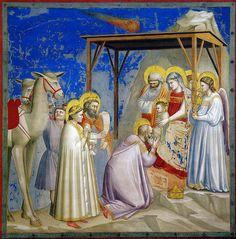 All sizes | Giotto - L'adorazione dei Magi. Padova, Cappella degli Scrovegni | Flickr - Photo Sharing!