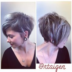 Been having lots of pixie fun #hairdomesa #nothingbutpixies #pixiebob #bbtexture #lovemyjob #ombrebombre