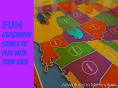 Preschool KELS SS 2.1 Fun geography games to play with your kids