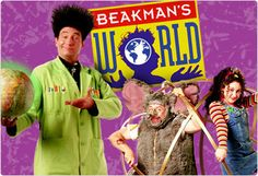 Beakmans World!! I would watch this show every Sat. morning & had all of his science toys :)