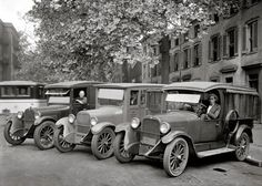 1927 Dodge Motor Co trucks belonging to Treasury Dept Washington, DC