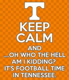 Football time yet ? Tennessee Volunteers Football, Ut Football, Tennessee Football, Tennessee Titans, Football Season, College Football, Vol Nation, Tn Vols, Tennessee Girls