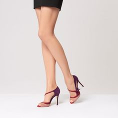 Lucile Multi-Coloured Suede Courts | Shoes | Collections | L.K.Bennett, London