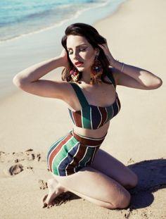 Lana Del Rey Style Inspiration Photoshoot