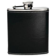 HOUDINI W2604 6oz Pocket Flask (Black)