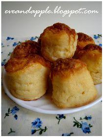 "Eve and Apple: Kedvenc túrós pogácsa "" Nagymama féle recept,, Baked Potato, French Toast, Mango, Deserts, Muffin, Food And Drink, Potatoes, Pudding, Cheese"
