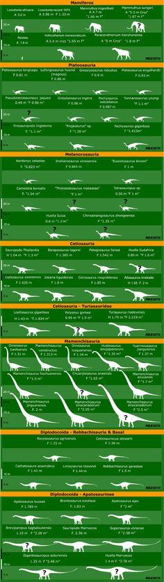 Sauropodos I por REXISTO