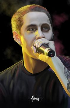 Tyrone Gonzalez aka Canserbero ? Digital Painting on Behance