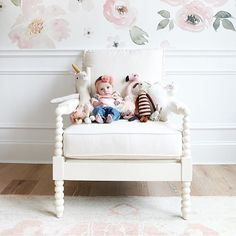 Doesn't get cuter than this you guys!! Lillya's nursery reveal is something we all can't wait for!