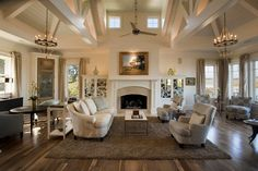 Living Room - traditional - living room - charleston - Phillip W Smith General Contractor, Inc.