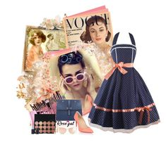 """""""Rosegal Vintage Dress! - Contest!"""" by asia-12 ❤ liked on Polyvore featuring Christian Louboutin, Torrid, LE VIAN and vintage"""