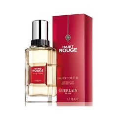 Histoire D'un Parfum Mythique - Habit Rouge de Guerlain Lancé en 1965, Habit Rouge fut le premier parfum oriental pour homme. Inspiré par le sillage d'un cavalier lors d'une promenade à Rambouillet, Jean Paul Guerlain signe ici un de ses plus grands succès ainsi qu'une référence de la parfumerie masculine en France.  Eau De Toilette 50ml : 124dt000  Commandez-le en cliquant ici : https://www.facebook.com/fatales.tunisie/app_314669525358066  #Fatales #Fragrances
