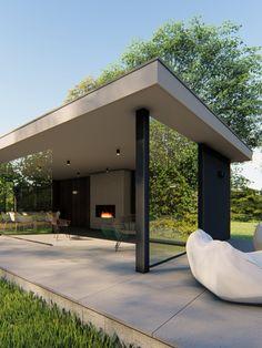 Pergola, Modern Gazebo, Outdoor Buildings, Backyard, Patio, Outdoor Living, Outdoor Decor, Pool Houses, Future House