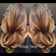 Neutral balayage ombre