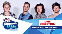 One Direction will be performing at the summertime ball! They will be the opening show at 3pm BST