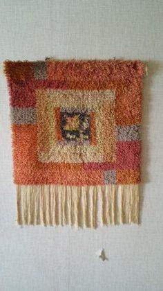 Punch Needle, Wool Rug, Scandinavian, Art Deco, Textiles, Tapestry, Flooring, Knitting, Rugs