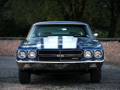 """Super Sexy"" Chevy Chevelle SS in a gorgeous blue! #inlove #carporn"
