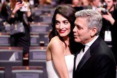 George y Amal Clooney ya son padres de gemelos