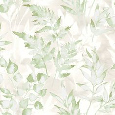 A modern leaf print wallpaper in green from Holden Décor's Glasshouse Wallpaper Collection. Available at Go Wallpaper UK. Smile Wallpaper, Metallic Wallpaper, Green Wallpaper, Geometric Wallpaper, Print Wallpaper, Pattern Wallpaper, Wallpaper Designs, Green Color Schemes, Green Colors