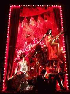 Bergdorfgoodman window shop - Christian Louboutin