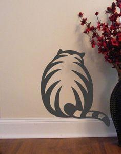 diy cat silhouette idea
