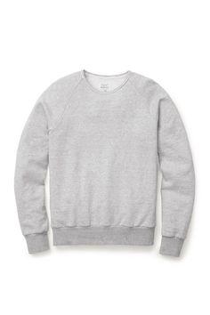 Standard issue sweatshirt – Light heather grey