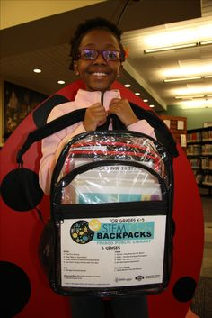 "Hands-on learning engages the five senses, so what better theme for this week's ""More Backpacks Monday"" than the Five Senses? Hear, see, smell, taste, and touch your way through learning how your body perceives the world with this STEM Backpack. #FriscoMakes with an #IMLSGrant to #TexasLibraries"