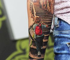 Realistic Tattoo by Levgen Eugene Knysh | Tattoo No. 13949