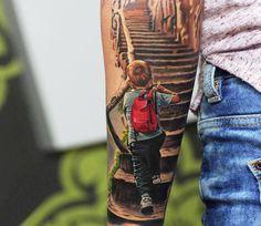 Realistic Tattoo by Levgen Eugene Knysh | Tattoo No. 13949
