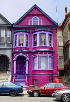 Pink House in San Francisco