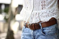 """There's something about adding lace to an outfit. It brings some kind of instant """"chill sexiness"""" to the outfit...."""