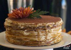 Блинный торт с маскарпоне - пошаговый рецепт с фото на Повар.ру