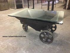Wheelbarrow, Industrial Design, Garden Tools, Custom Tables, Furniture, Home Decor, Decoration Home, Industrial By Design, Room Decor