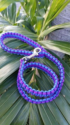 Paracord Dog Leash/Lead with 70 lb. 3 in. by ParacordInspirations