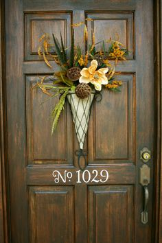 Pretty Fall Front door