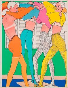 #MondayMoods #Illustration #Fashion #FashionIllustration Antonio Lopez
