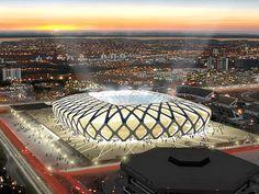 Amerika'nın Bleacher Report adlı ünlü spor haber portalının yayınladığı en iyi spor arenaları listesinde Ukrayna'nın başkenti Kiev'de 2012 Avrupa Futbol Şampiyonası için yeniden inşa edilen Olimpi...