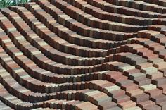 Image result for undulating brick