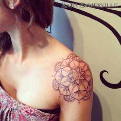 mandala tattoo shoulder cap - Google Search