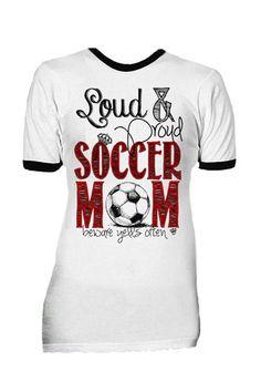 PREORDER Soccer Mom Tee | The ZigZag Stripe LLC #soccermom #thezigzagstripe