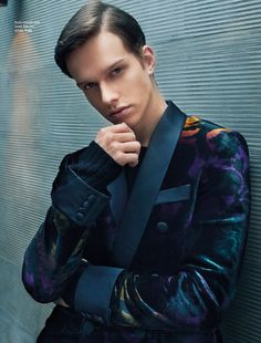 Leo Bruno for August Man