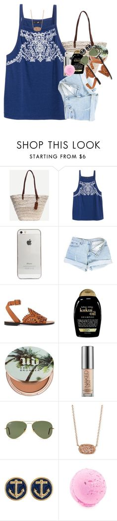 """forever21 is like my fav store evaa"" by ellaswiftie13 ❤ liked on Polyvore featuring Agent 18, Chloé, Organix, Urban Decay, Ray-Ban and Kendra Scott"
