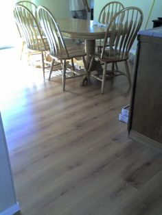 Beautiful Laminate Wood floor installed by B&T Carpet and Linoleum Inc.   http://www.bandtcarpet.com/laminate.html